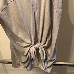 lululemon tie back tank